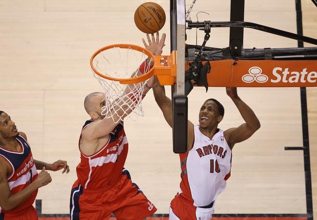 Toronto Raptors vs. Washington Wizards Pick, Odds, Prediction 11/7/14 NBA Pick, Odds, and Prediction