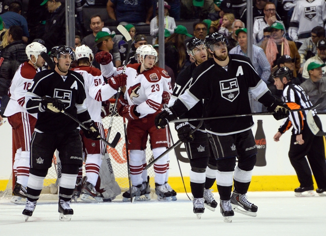 Los Angeles Kings vs. Phoenix Coyotes - 4/2/14