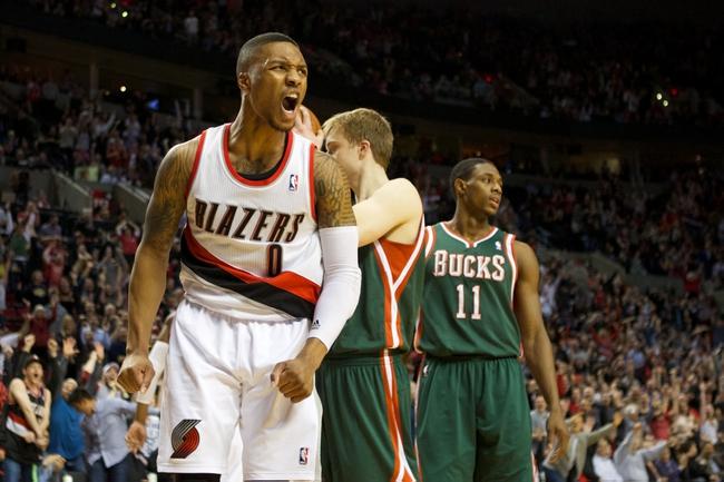 Portland Trail Blazers vs. Milwaukee Bucks - 12/17/14 NBA Pick, Odds, and Prediction