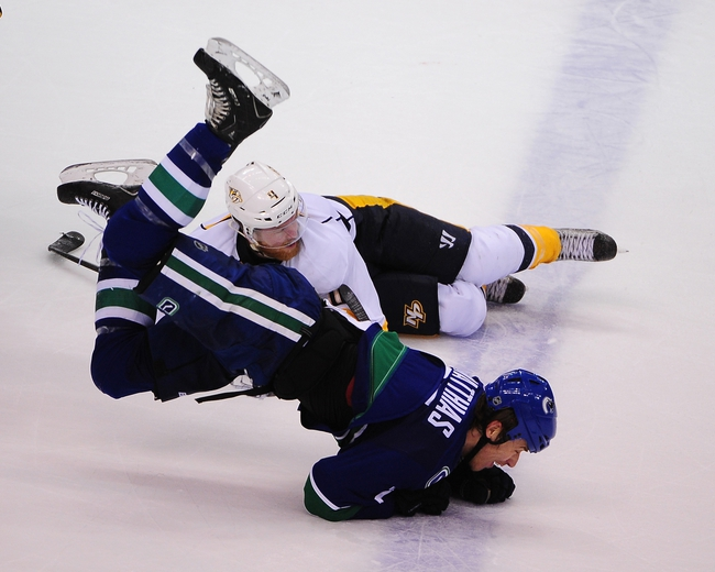 Vancouver Canucks vs. Nashville Predators - 11/2/14 NHL Pick, Odds, and Prediction