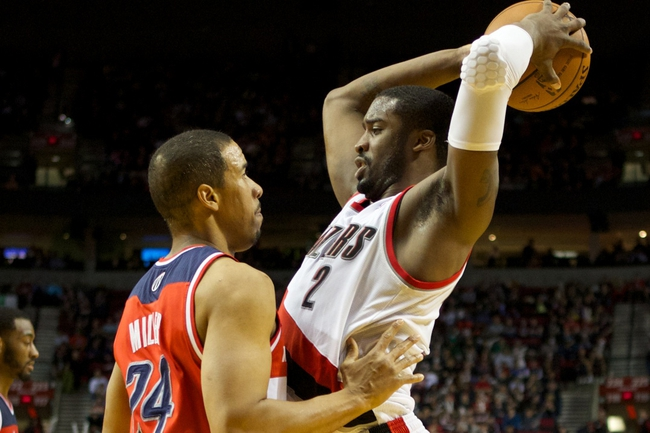 Portland Trail Blazers vs. Washington Wizards - 1/24/15 NBA Pick, Odds, and Prediction