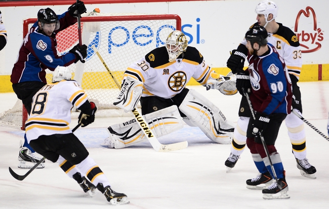 Boston Bruins vs. Colorado Avalanche - 10/13/14