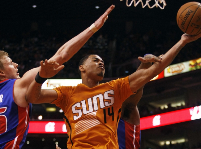 Pistons vs. Suns - 11/19/14 NBA Pick, Odds, and Prediction