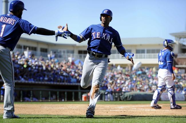Texas Rangers vs. Kansas City Royals MLB Pick, Odds, Prediction - 8/23/14