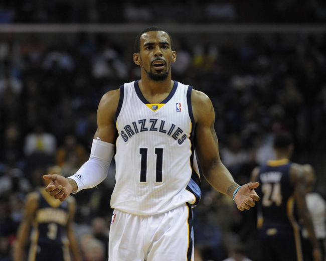 Indiana Pacers vs. Memphis Grizzlies - 10/31/14 NBA Pick, Odds, and Prediction