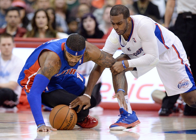 Pistons vs. Clippers - 11/26/14 NBA Pick, Odds, and Prediction