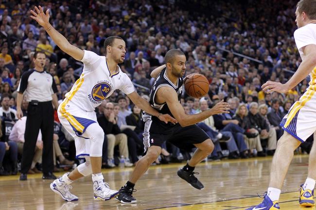 San Antonio Spurs vs. Golden State Warriors - 4/2/14
