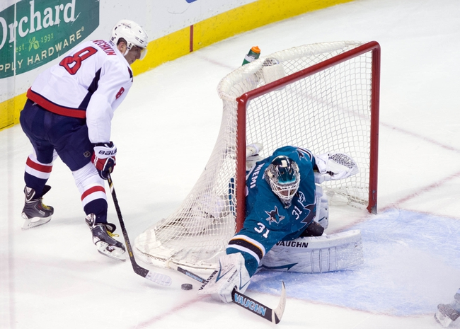 Washington Capitals vs. San Jose Sharks - 10/14/14 NHL Pick, Odds, Prediction
