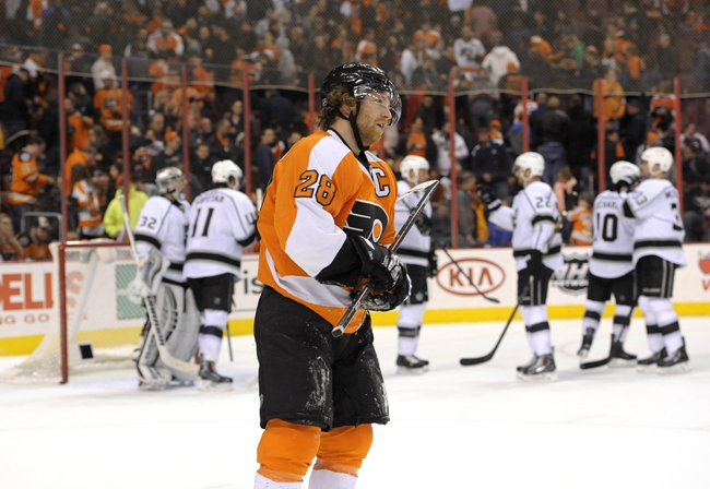 Philadelphia Flyers vs. Los Angeles Kings - 10/28/14 NHL Pick, Odds, and Prediction
