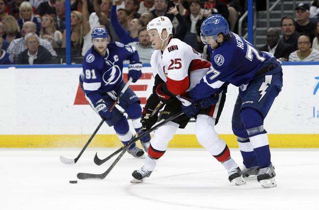 Tampa Bay Lightning vs. Ottawa Senators - 10/11/14