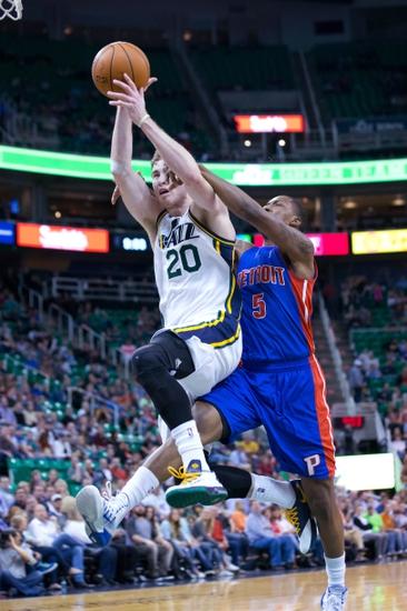 Detroit Pistons vs. Utah Jazz - 11/9/14 NBA Pick, Odds, and Prediction
