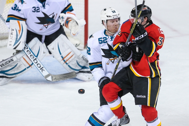Sharks vs. Flames - 11/26/14 NHL Pick, Odds, and Prediction