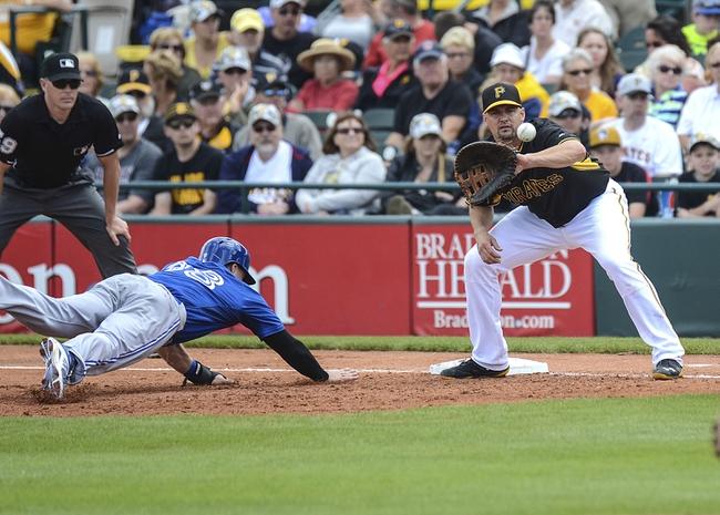 Pittsburgh Pirates vs. Toronto Blue Jays MLB Pick, Odds, Prediction 5/2/14