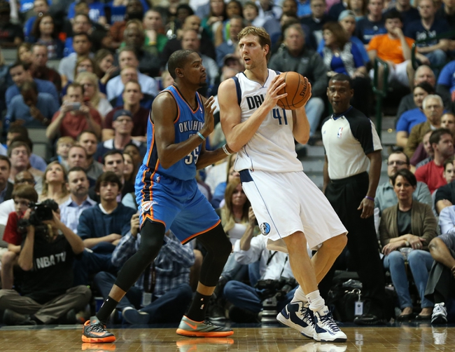 Mavericks vs. Thunder - 1/22/16 NBA Pick, Odds, and Prediction