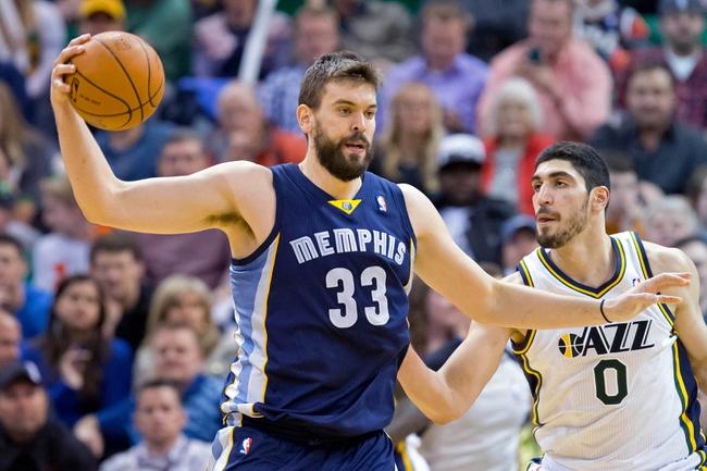 Memphis Grizzlies vs. Utah Jazz - 12/22/14 NBA Pick, Odds, and Prediction