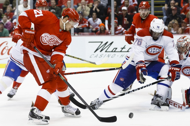 Montreal Canadiens vs. Detroit Red Wings - 4/5/14