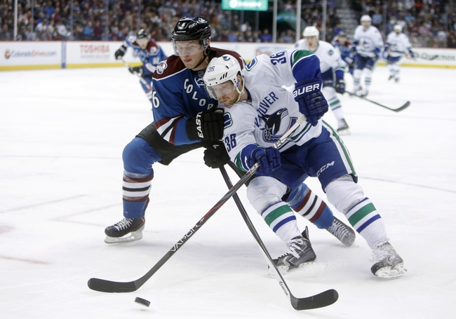 Vancouver Canucks vs. Colorado Avalanche Pick-Odds-Prediction - 4/10/14