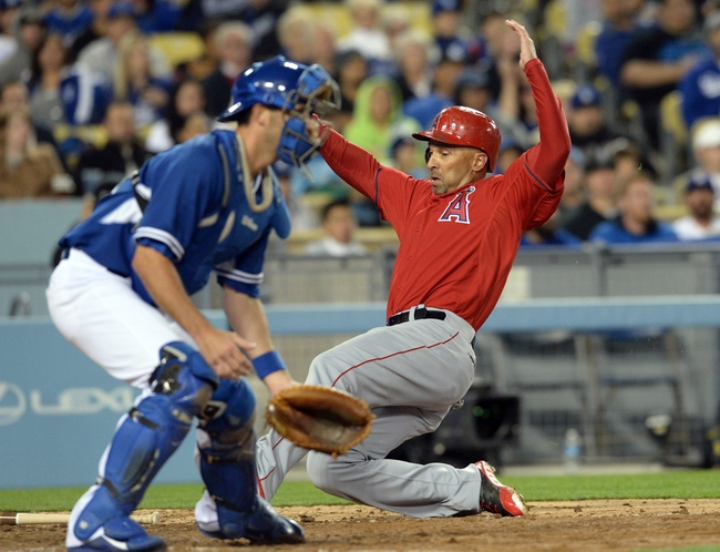 Los Angeles Dodgers vs. Los Angeles Angels 8/4/14 MLB Pick, Odds, Prediction
