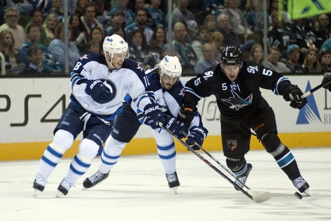 San Jose Sharks vs. Winnipeg Jets - 10/11/14 NHL Pick, Odds, Prediction