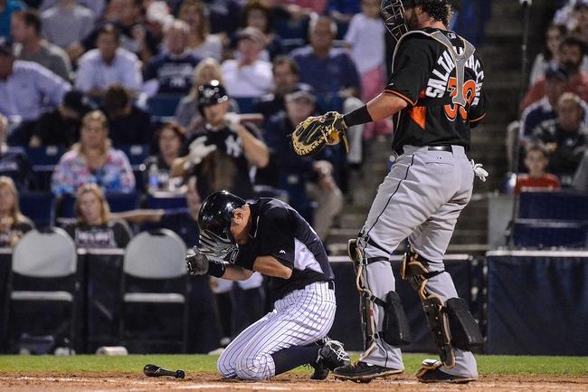 Miami Marlins vs. New York Yankees - 6/15/15 MLB Pick, Odds, and Prediction