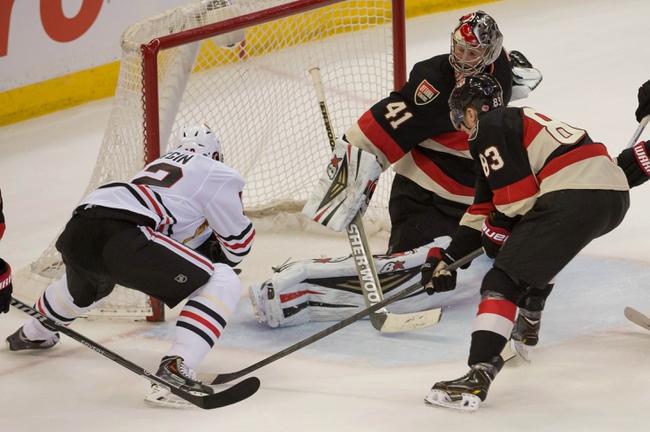 Chicago Blackhawks vs. Ottawa Senators - 10/26/14