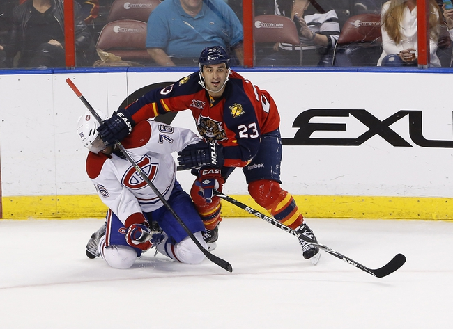 Panthers vs. Canadiens - 12/30/14 NHL Pick, Odds, and Prediction