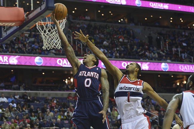Washington Wizards vs. Atlanta Hawks - 11/25/14 NBA Pick, Odds, and Prediction