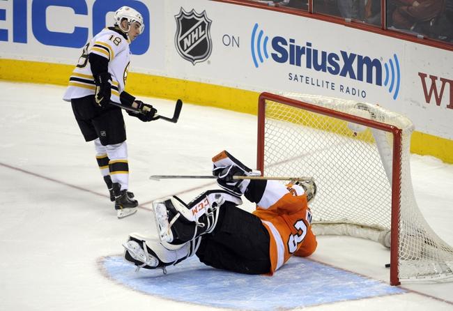 Boston Bruins vs. Philadelphia Flyers Pick-Odds-Prediction - 4/5/14