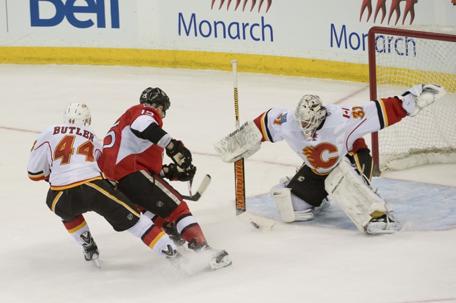 Calgary Flames vs. Ottawa Senators - 11/15/14 NHL Pick, Odds, and Prediction