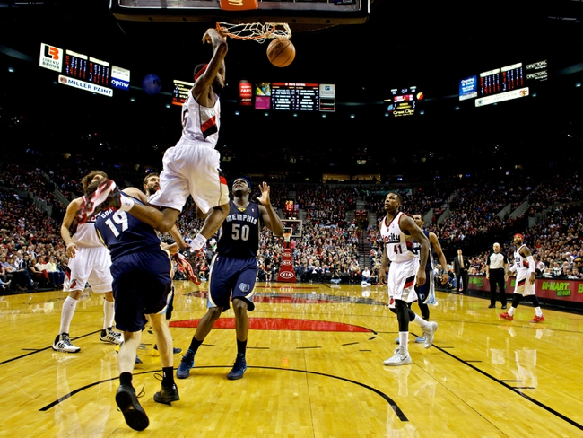 Trail Blazers vs. Grizzlies - 11/28/14 NBA Pick, Odds, and Prediction