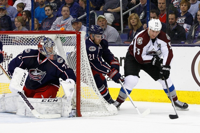 Avalanche vs. Blue Jackets - 1/4/15 NHL Pick, Odds, and Prediction