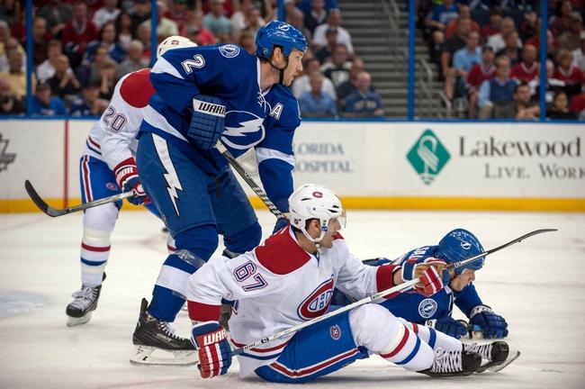 Tampa Bay Lightning vs. Montreal Canadiens - 4/16/14