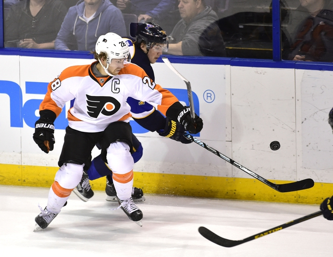 Flyers vs. Blues - 3/5/15 NHL Pick, Odds, and Prediction