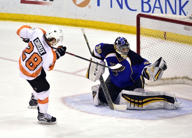 St. Louis Blues vs. Philadelphia Flyers - 3/12/15 NHL Pick, Odds, and Prediction