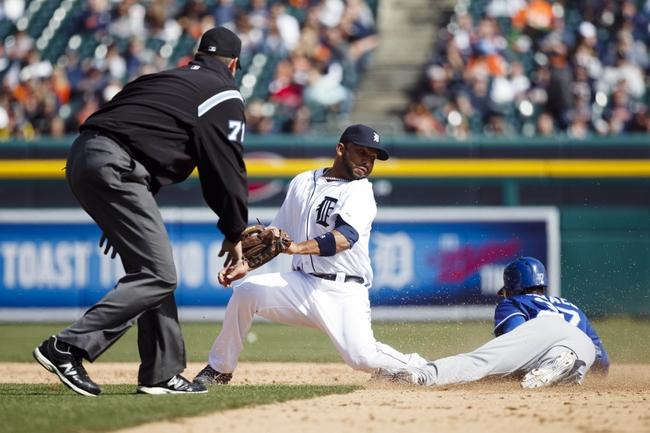 Detroit Tigers vs. Kansas City Royals - 4/3/14