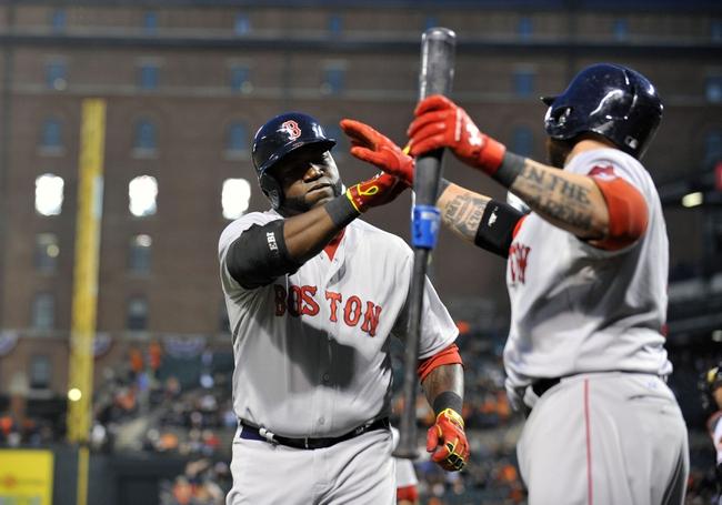 Baltimore Orioles vs. Boston Red Sox - 4/3/14