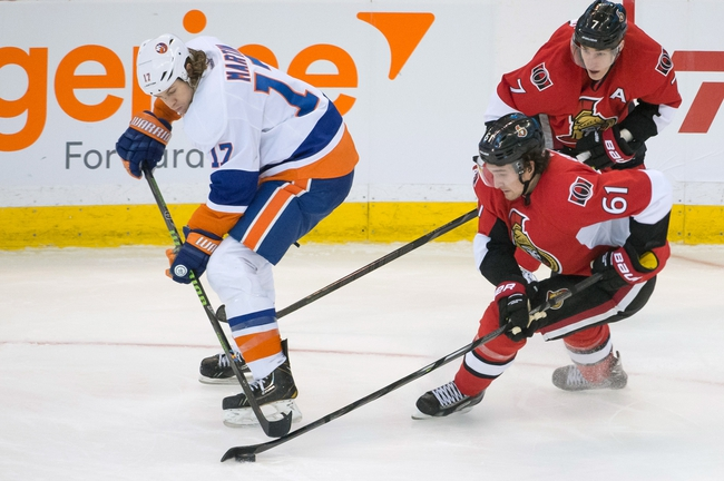 New York Islanders vs. Ottawa Senators Pick-Odds-Prediction - 4/8/14