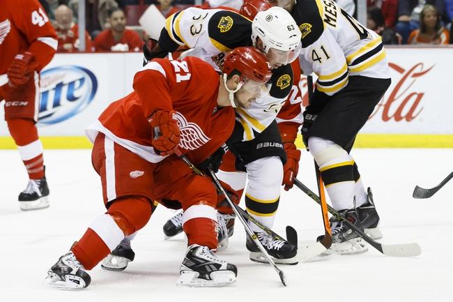 Boston Bruins vs. Detroit Red Wings - 4/18/14