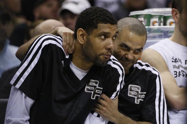 Houston Rockets vs. San Antonio Spurs - 4/14/14