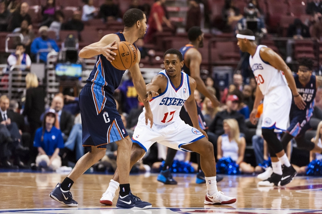Charlotte Bobcats vs. Philadelphia 76ers - 4/12/14