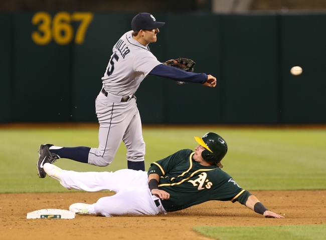 Oakland Athletics vs. Seattle Mariners - 4/4/14