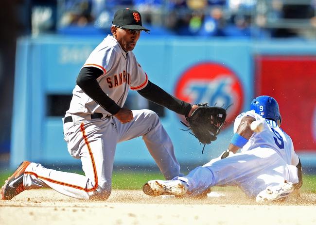 Los Angeles Dodgers vs. San Francisco Giants Pick-Odds-Prediction - 4/5/14