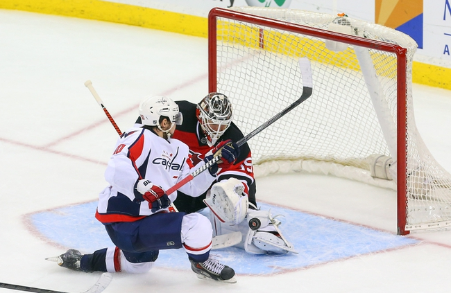 Washington Capitals vs. New Jersey Devils - 10/16/14 NHL Pick, Odds, Prediction