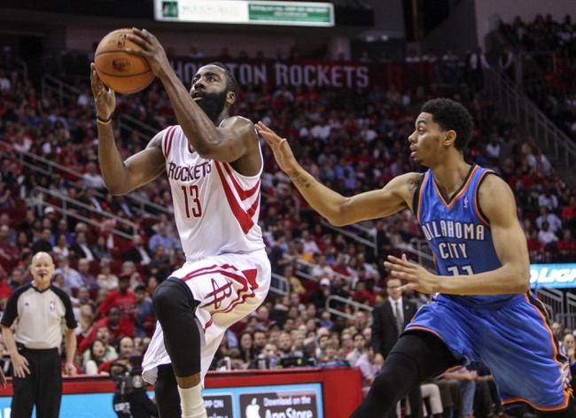 Oklahoma City Thunder vs. Houston Rockets - 11/16/14 NBA Pick, Odds, and Prediction