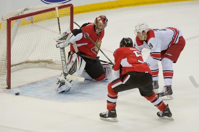 Ottawa Senators vs. Carolina Hurricanes - 1/17/15 NHL Pick, Odds, and Prediction