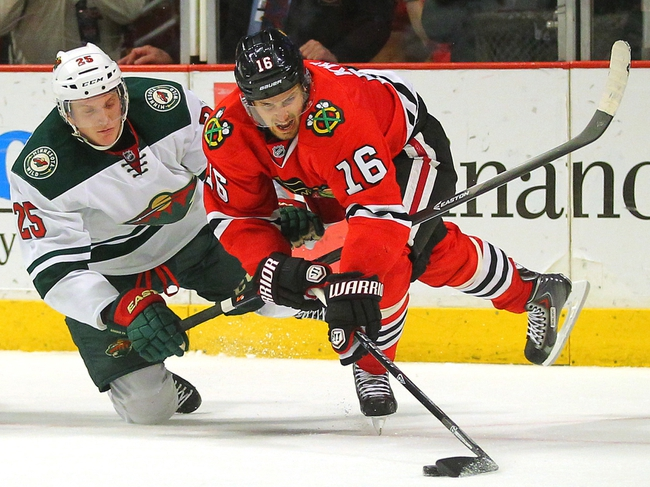 Minnesota Wild at Chicago Blackhawks Pick-Odds-Prediction - 5/2/14