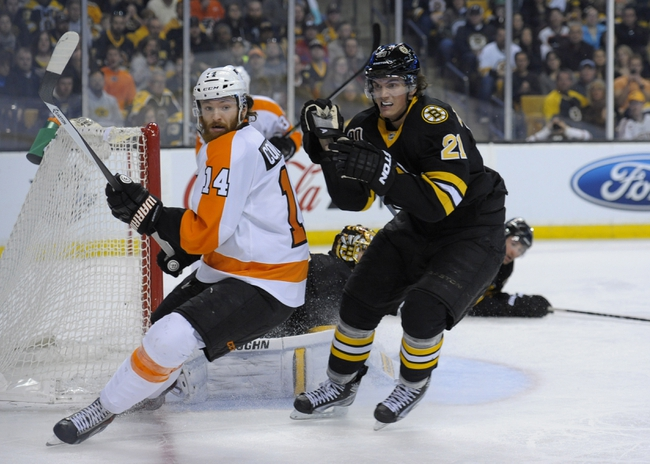 Boston Bruins vs. Philadelphia Flyers - 10/8/14