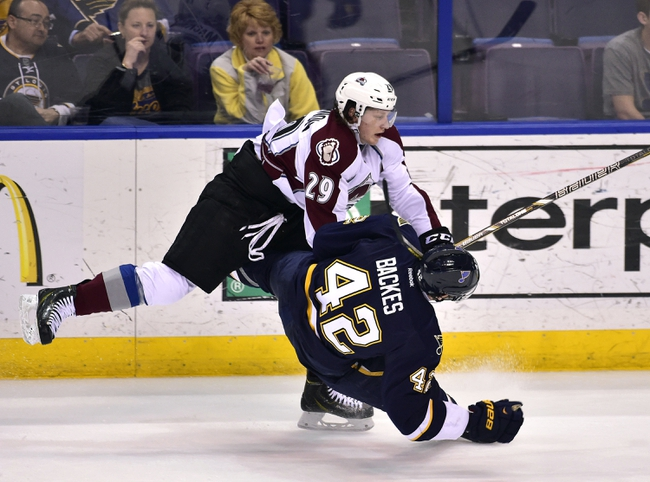 St. Louis Blues vs. Colorado Avalanche - 11/1/14 NHL Pick, Odds, and Prediction