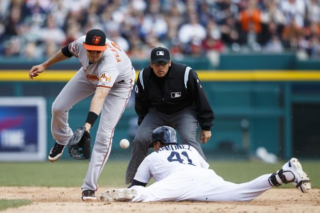 Baltimore Orioles vs. Detroit Tigers MLB Pick, Odds, Prediction 5/12/14