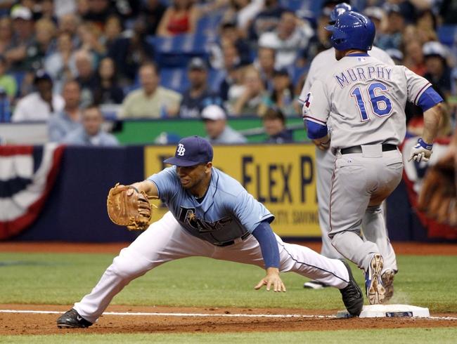 Texas Rangers vs. Tampa Bay Rays MLB Pick, Odds, Prediction - 8/12/14